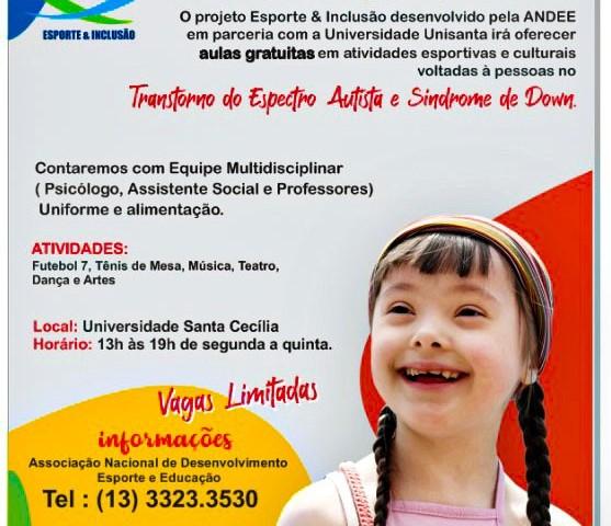 Banner Esporte & Inclusão
